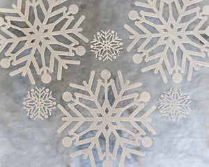 Silver Glitter Place Mats and Coasters