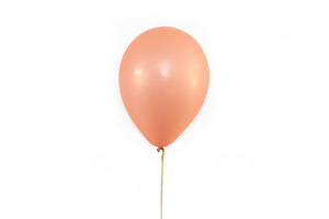 Rose Gold Metallic Balloons