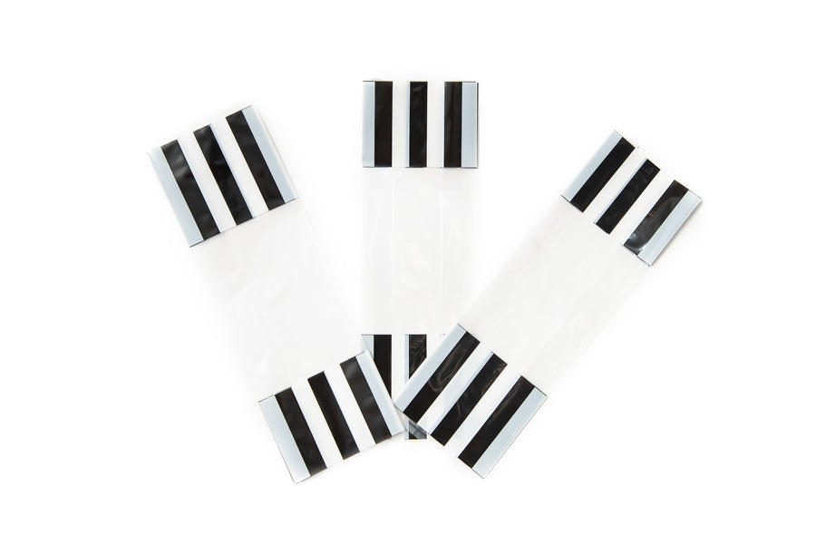Black & White Cello Party Bags