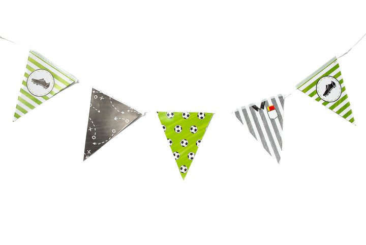 Football Paper Flag Bunting