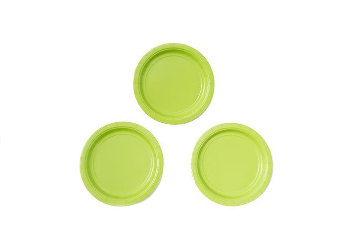 Light Green Dessert Plates