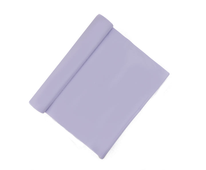 Lilac Plastic Table Cover