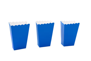 Royal Blue Small Popcorn Boxes