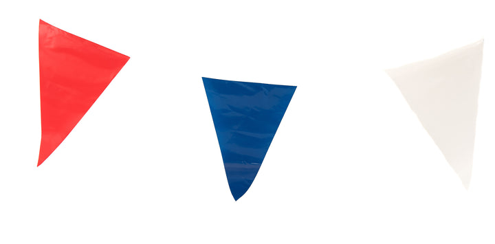 Red, White & Blue Plastic Bunting
