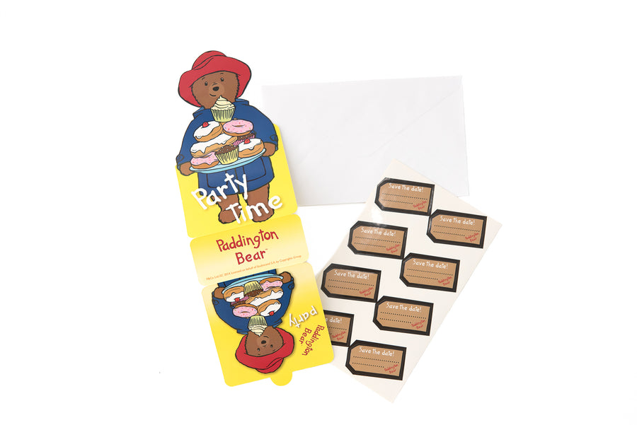 Paddington Bear Party Invitations
