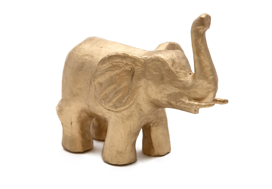 Gold Large Elephant