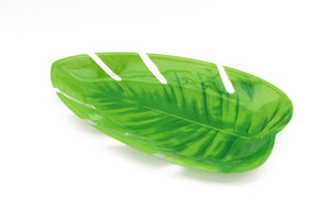 Plastic Jungle Leaf Platter