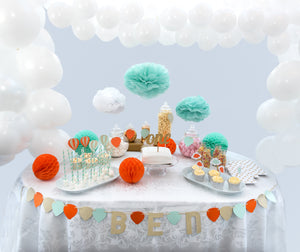 Up and Away Cake Table