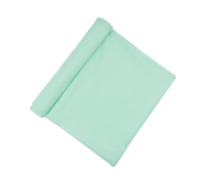 Robin Egg Blue Plastic Table Cover