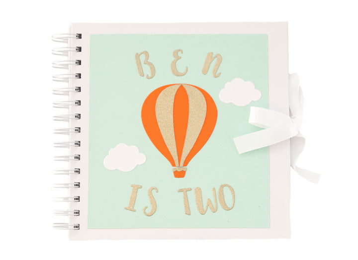 Personalised Guest Book - Up and Away Theme