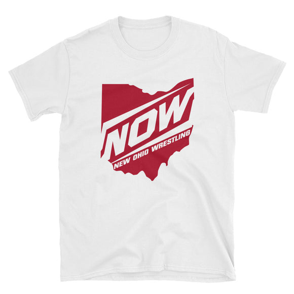 New Ohio Wrestling Red State Short-Sleeve Unisex T-Shirt
