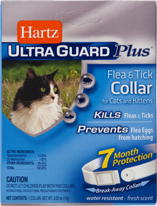 Hartz Ultra Guard Plus Flea & Tick Collar for Cats and Kittens