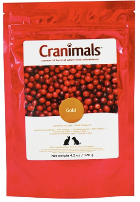 Cranimals Gold Puppy and Cat Supplement 120g/4.2Oz Bag