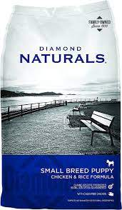 Diamond Naturals Small Breed Puppy Formula Dry Dog Food,  6lb / 2.72kg