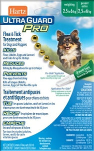 Hartz Ultra Guard Pro Flea & Tick Treatment 2.5 to 6kg
