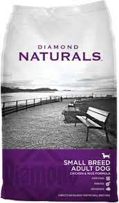 Diamond Naturals Small Breed Adult Chicken & Rice Formula Dry Dog Food, 6lb/2.72kg