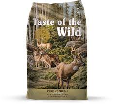 Taste of the Wild Pine Forest Canine Recipe 5 lbs/2.27kg