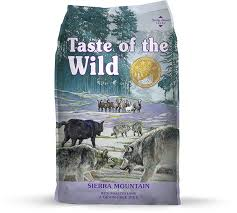 Taste of the Wild Sierra Mountain Canine Recipe 5lbs/2.27kg