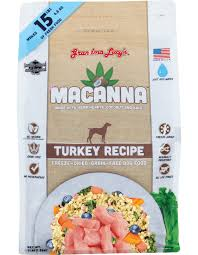 Grandma Lucy's Macanna Turkey Recipe Freeze-Dried/Grain-Free Dog Food 3lbs/1.36kg