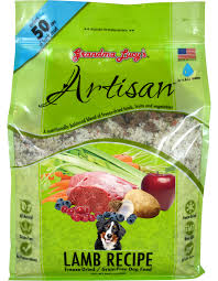 Grandma Lucy's Artisan Grain-Free Lamb Freeze-Dried Dog Food 3lb/1.4kg
