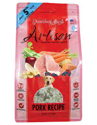Grandma Lucy's Artisan Grain-Free Pork Freeze-Dried Dog Food 1lb/0.45kg