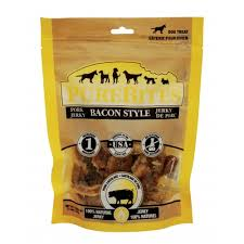 PureBites Bacon Style Pork Jerky Dog Treats 23.8oz/677g