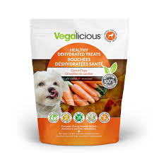 FouFou Dog Vegalicious Healthy Carrot Chips Dehydrated Dog Treats 5.6oz/158.8g