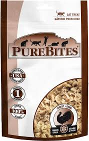 PureBites Turkey Breast Freeze-Dried Cat Treats 0.92oz/26g