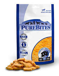 PureBites Cheddar Cheese Freeze-Dried Dog Treats 2.0oz/57g