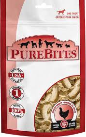PureBites Freeze Dried Chicken Breast Dog Treats 6.2oz/175g