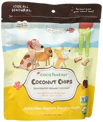CocoTherapy, Coconut Chips for Dogs and Cats, 6oz/170g