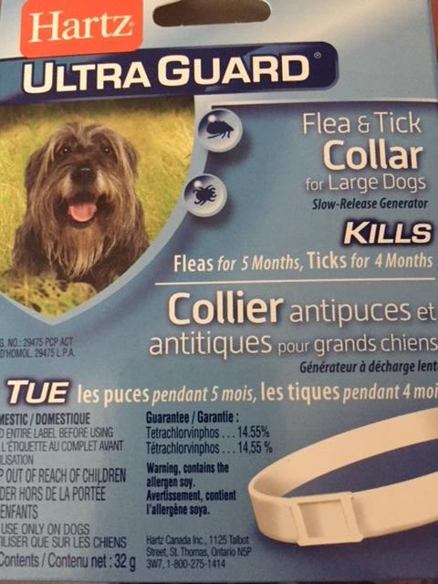 Hartz Ultra Guard Flea & Tick Collar for Large Dogs