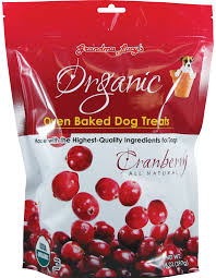 Grandma Lucy's Organic Cranberry Oven Baked Dog Treats, 14oz/397g