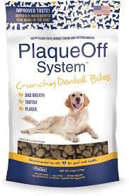 ProDen PlaqueOff System Crunchy Bites Large Breed Dental Dog Treats, 6-oz