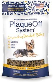 ProDen PlaqueOff Crunchy Dental Bites For Small Dogs - 3oz