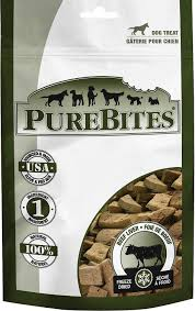 PureBites Beef Liver Freeze-Dried Dog Treats 2.0oz/57g