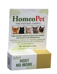 HomeoPet, Feline Host No More, 15ml