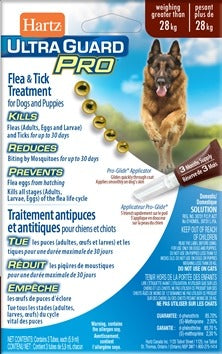 Hartz- Ultra Guard Pro Flea & Tick Treatment greater than 28 kg