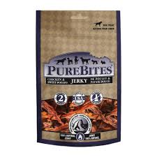 PureBites Chicken and Sweet Potato Jerky Dog Treats 13.2oz/375g