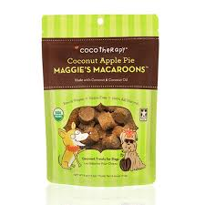 CocoTherapy, Maggie's Macaroons Coconut Apple Pie, for Dogs, 4oz/113g