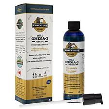 BONNIE & CLYDE-Wild Omega-3 Fish Oil Supplement For Dogs And Cats With Natural Vitamin E (8 oz)