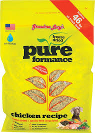 Grandma Lucy's Pureformance Grain-Free Chicken Freeze-Dried Dog Food 1lb/0.45kg