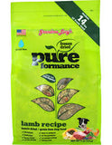 Grandma Lucy's Pureformance Grain-Free Lamb Freeze-Dried Dog Food 3lbs/1.4kg