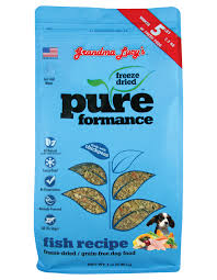 Grandma Lucy's Pureformance Grain-Free Fish Recipe Freeze-Dried Dog Food 1lb/0.45kg