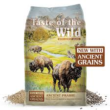 Taste of the Wild  Ancient Prairie canine recipe with roasted bison&roasted venison