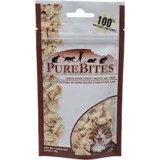 PureBites Turkey Breast Freeze-Dried Cat Treats 0.49oz/14g