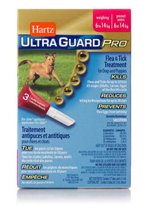 Hartz Ultra Guard Pro Flea & Tick Treatment for Dogs and Puppies 6 to 14 kg