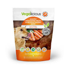 FouFou-Vegalicious-Healthy Dehydrated Treats - Carrot Wedges,11.6oz/328.8g