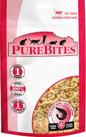 PureBites Wild-Caught Shrimp Freeze-Dried Cat Treats 0.28oz/8g
