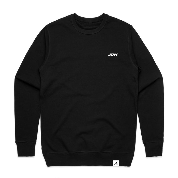 Black Logo Sweater